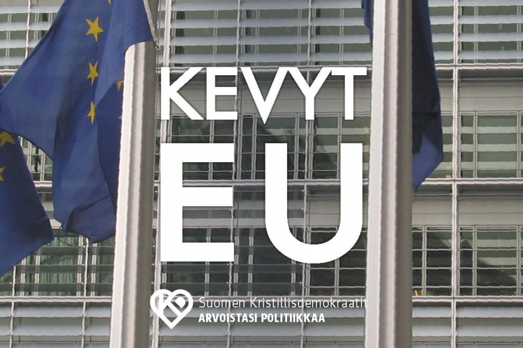 KD puoluehallitus: Emme hyväksy EU-elpymisvälineen omien varojen päätöstä – muuttaa unionia peruuttamattomasti