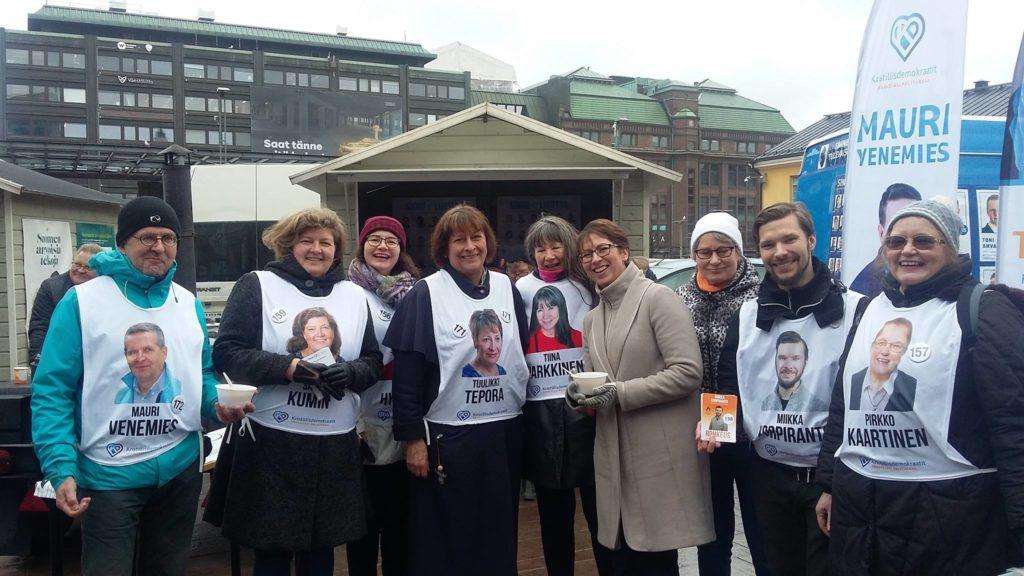 Ääni Kristillisdemokraateille on ääni kestäville arvoille ja Suomelle, johon voit luottaa!