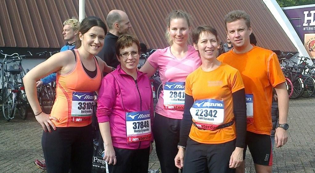 Suvi-Susanna Virta: Fiiliksiä Amsterdamin puolimaratonilta