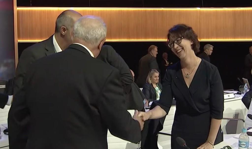Sari Essayah kansainvälisen olympiakomitean jäseneksi